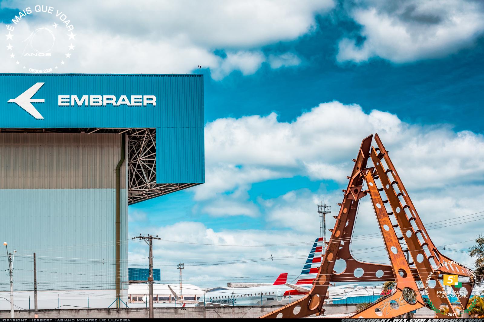 Embraer e UNESP firmam convênio para processamento de 40 mil testes de diagnóstico da COVID-19 | Foto © Herbert Monfre - Fotógrafo de Aviões - Imagem produzida por Herbert Pictues | by É MAIS QUE VOAR