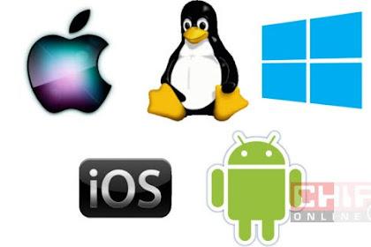 Sebutkan Macam-macam Sistem Operasi (SO) ?