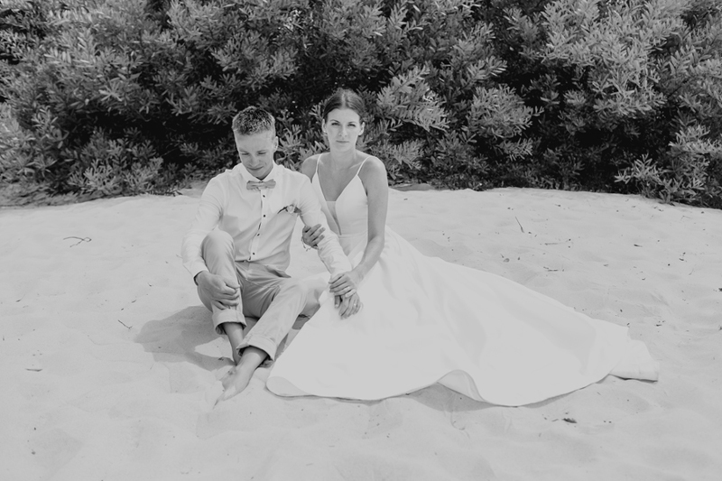noosa couple elopement