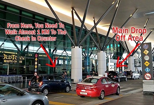 KLIA2 Passenger Drop Off Area