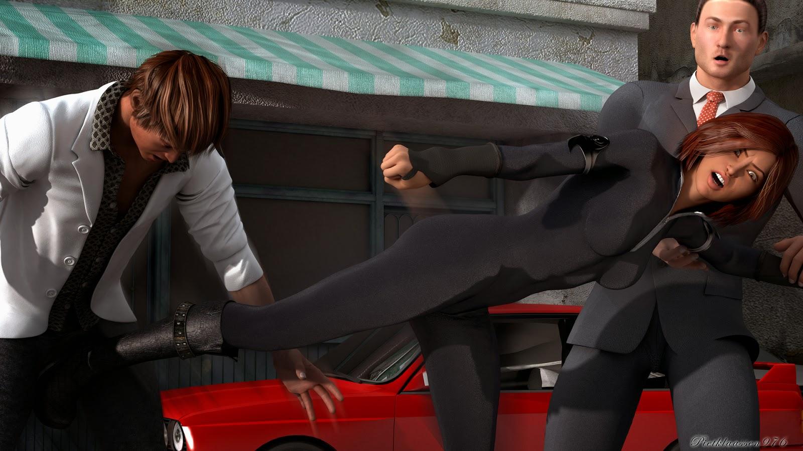 3D Ballbusting Women By Pietklaassen976 Random -2451