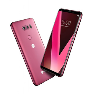 Raspberry Rose LG V30 Introduced At CES 2018