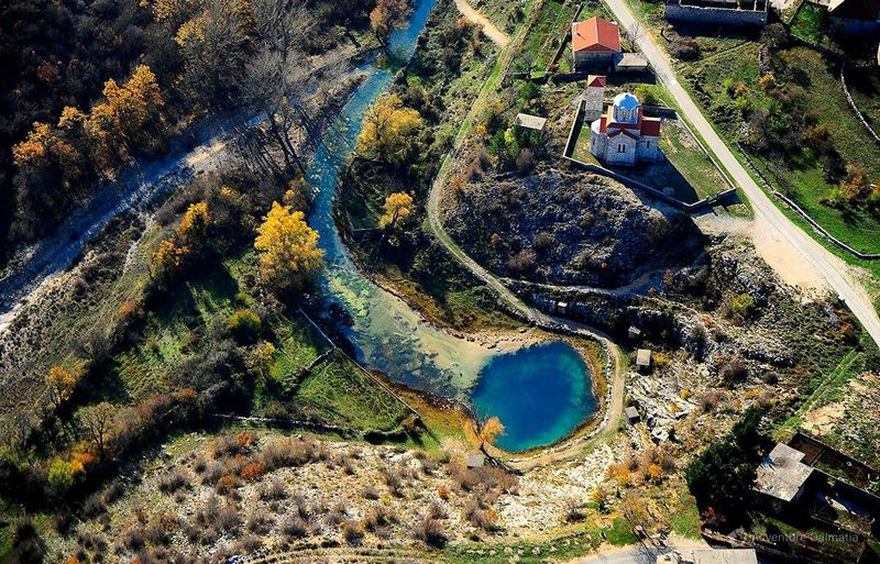 It rises in the spring of Milasevo near the small village of Cetina,  The source of the Cetina river in Croatia , Milasevo Spring of Cetina, Dinara