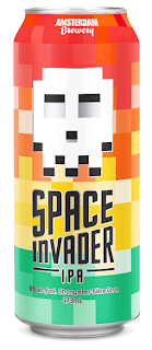 Space Invader beer