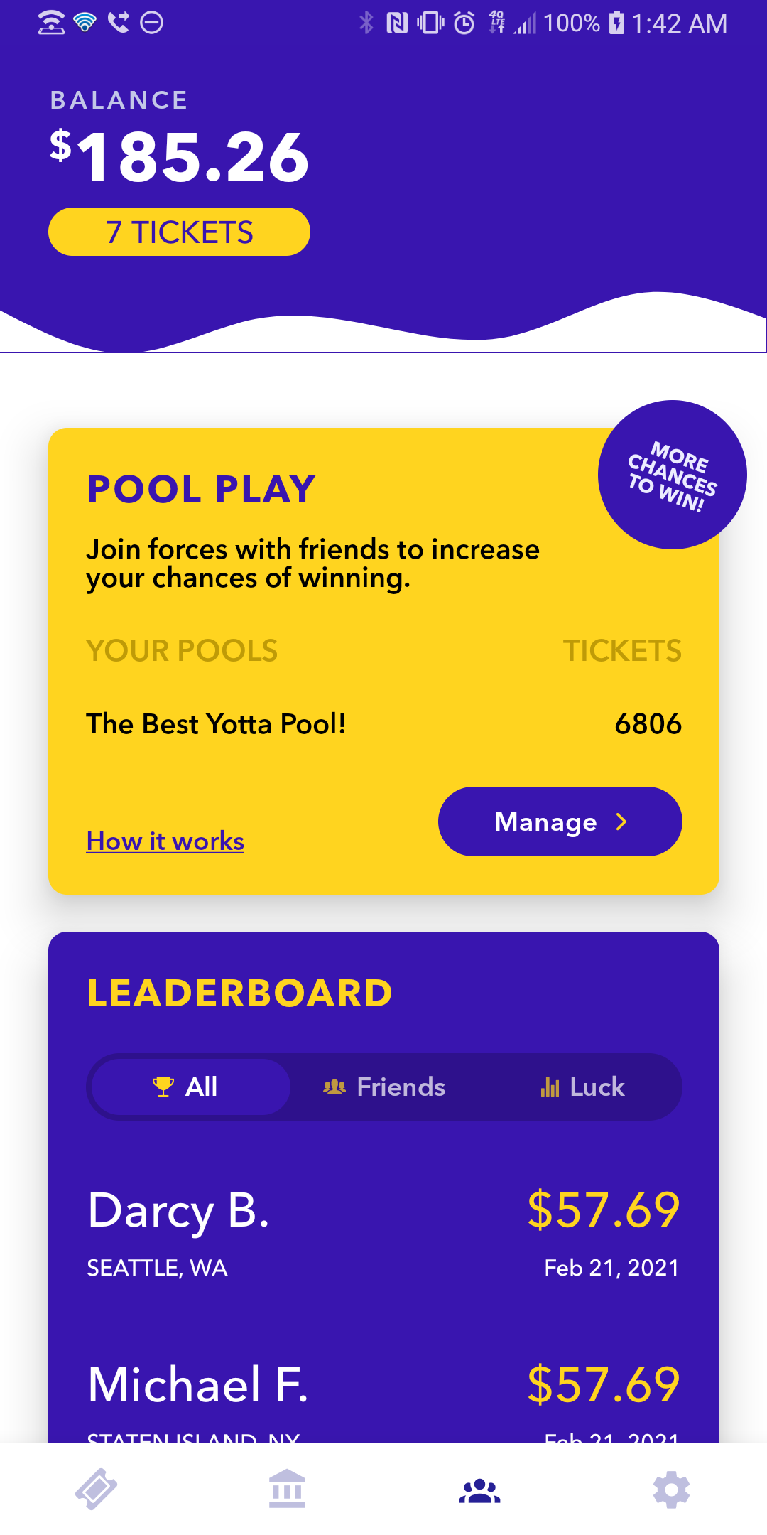Image of a Yotta Pool - Increasing the probability of winning weekly! - Dividendhack.com