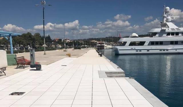 Ολοκληρώνεται έργο ανάπλασης στο λιμάνι Πορτοχελίου εν μέσω καραντίνας