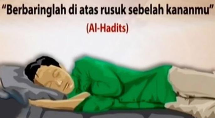 Begini Tidur Sehat Ala Rasulullah