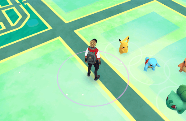Lokasi Pikachu