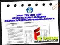 Soal Try Out SMP Beserta Kunci Jawaban Dilengkapi dengan Pembahasannya