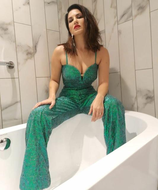 Sunny Leone's Hot Bathtub Looks