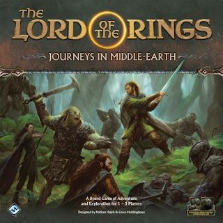 El señor de los anillos viajes por la tierra media el juego de mesa