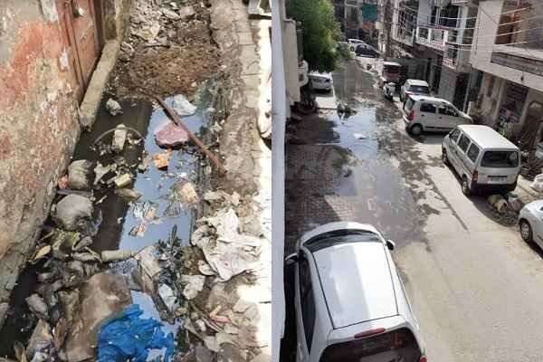 nit-5-l-block-mcf-workers-not-doing-cleaning-work-faridabad-news