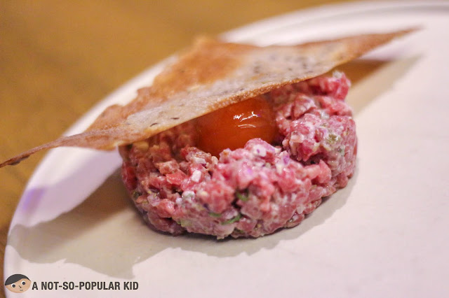 Beef Tartar by Chef Josh Boutwood