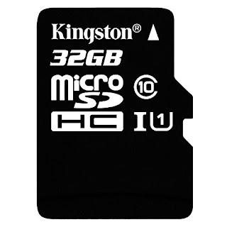 Kingston 32 GB UHS Class 1/Class10 microSDHC UHS-I Flash Memory Card,