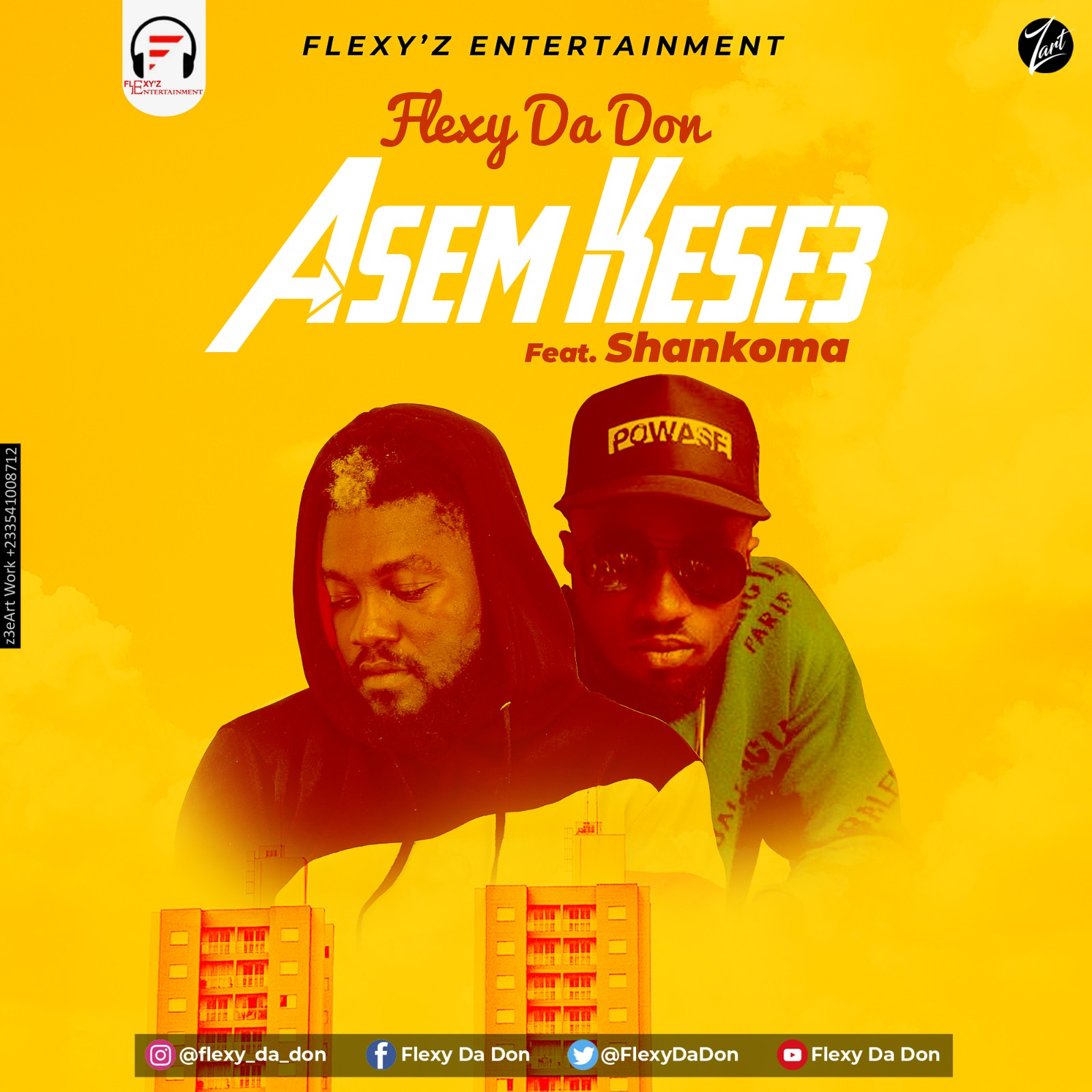 Flexy Da Don – Asem Kese3 feat. Shankoma