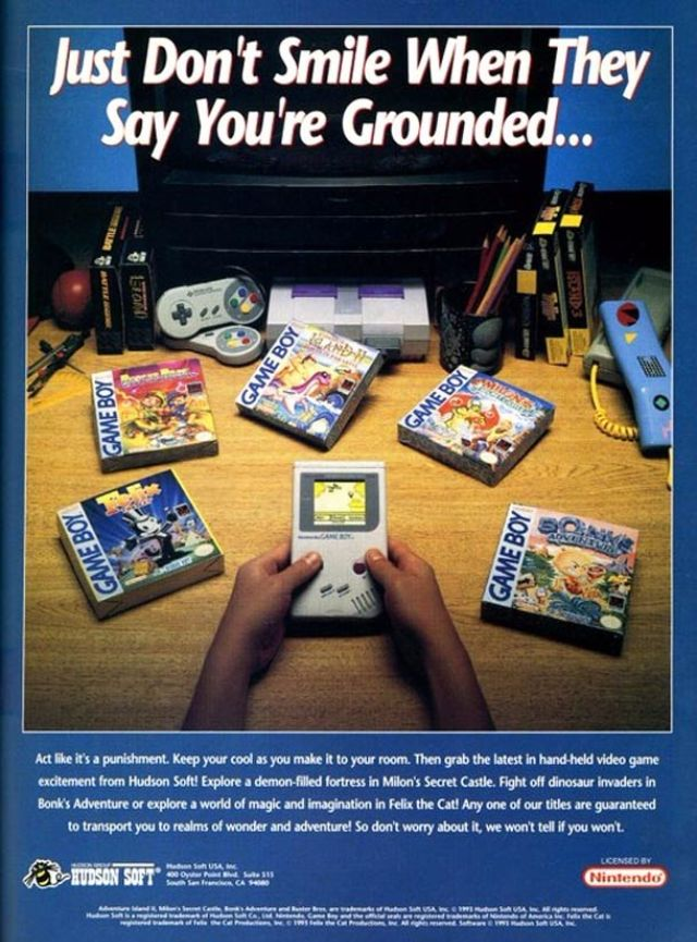 35 Fabulous Vintage Video Game Ads From The 1980s And 90s