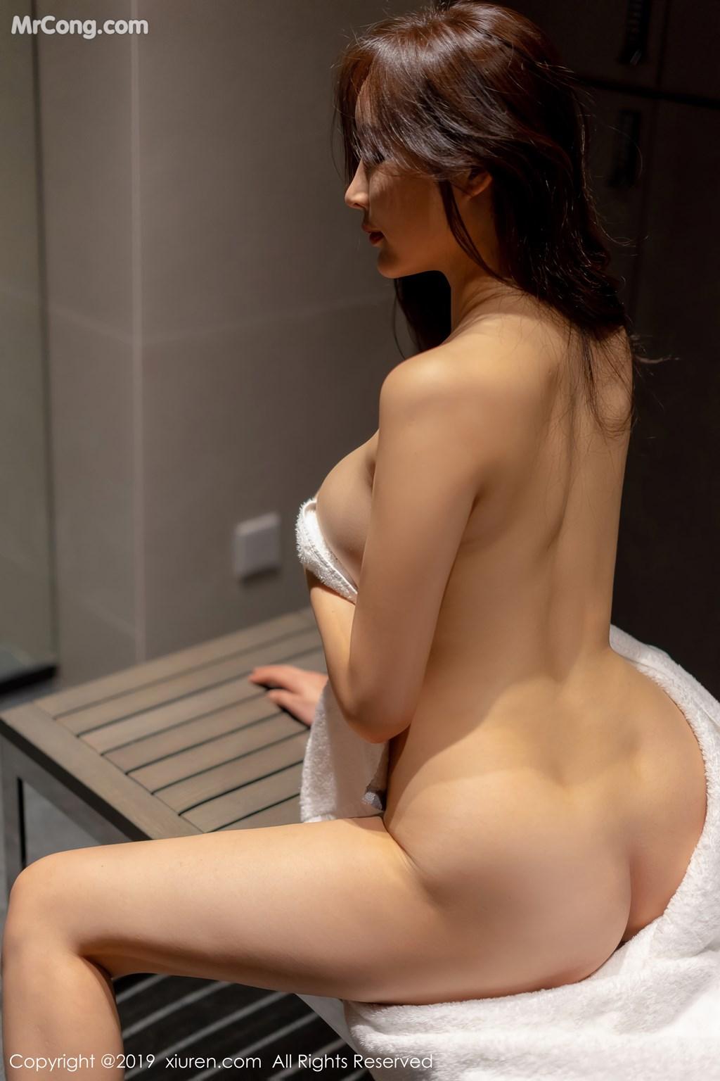 Image XIUREN-No.1331-Tu-Fei-Yuan-Ai-Cuo-Qiong-MrCong.com-004 in post XIUREN No.1331: 奶瓶土肥圆矮挫丑黑穷 (48 ảnh)