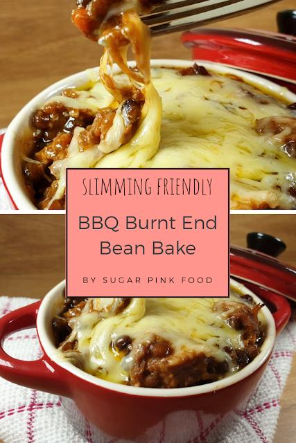 BBQ Burnt End Bean Bake recipe slimming world friendly fakeaway