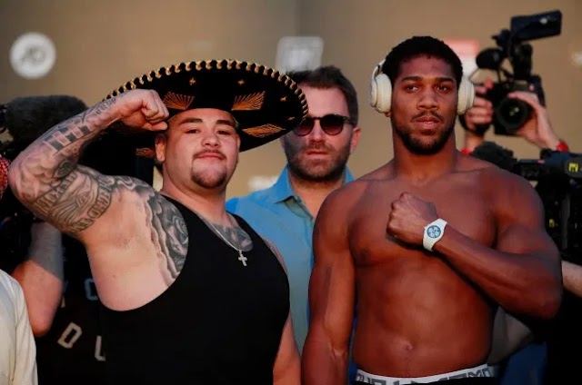 I am fearless, I am prepared for Today's fight, Anthony Joshua