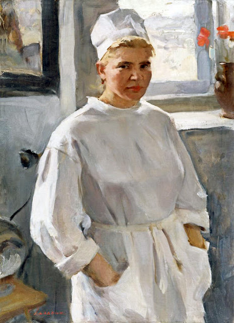 Oleg Lomakin, International Art Gallery, Self Portrait, Art Gallery, Portraits Of Painters, Fine arts, Self-Portraits, Portrait of Woman, Oleg Leonidovich Lomakin