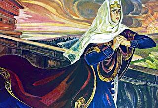 Картинка Плач Ярославны по слову