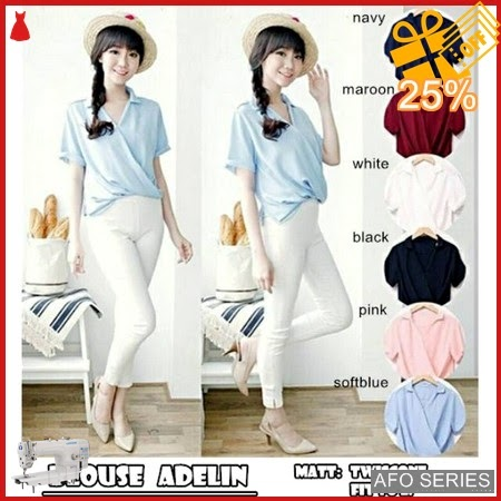 AFO703 Model Fashion Blouse Adelin Modis Murah BMGShop