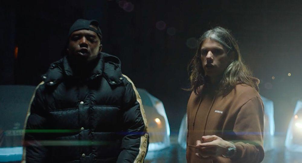 Photo de Ninho et Orelsan extraite du clip Millions