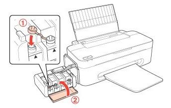 Cara Mengisi Tinta, Instal Driver Dan Isi ID Tinta Printer