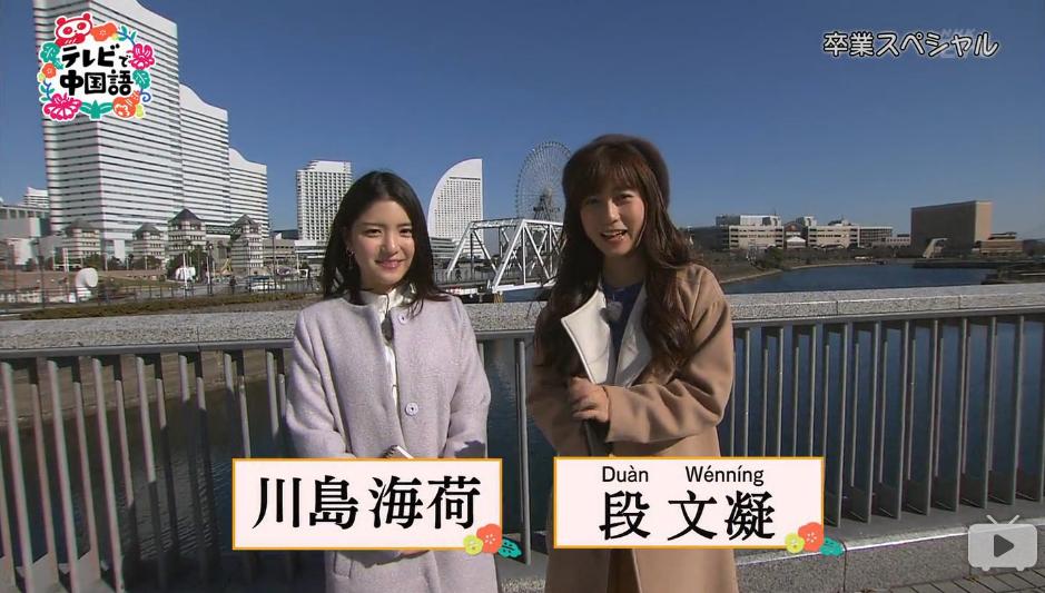 テレビで中国語: 20170328「テレビで中国語」第48課