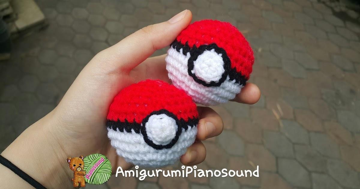 Amigurumipianosound Crochet Blog Pokeball Free Crochet Pattern