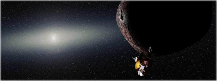 novo alvo da sonda New Horizons