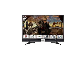 Panasonic 80 cm (32 Inches) HD Ready LED Smart TV TH-32ES48DX (Black)