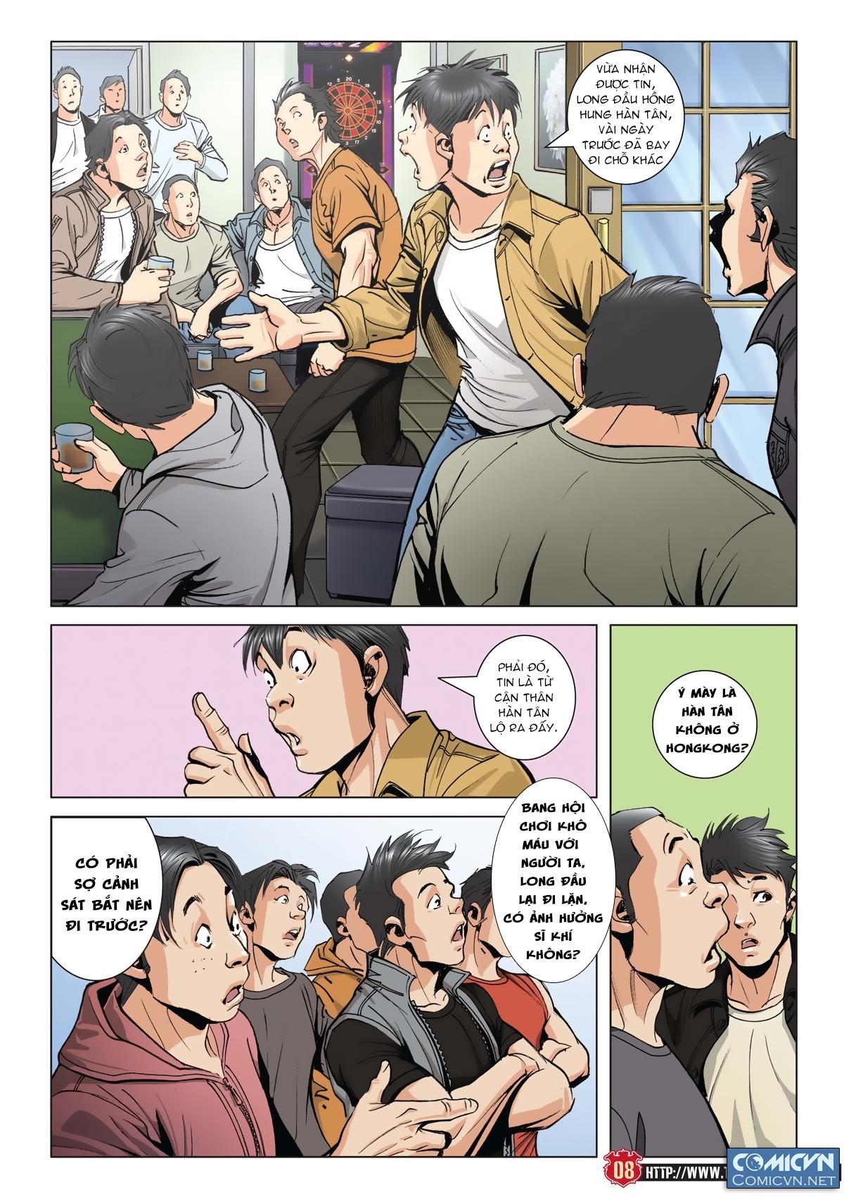 Người Trong Giang Hồ chapter 2011: hàn tân bỏ trốn trang 7