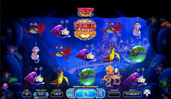 Main Gratis Slot Indonesia - Reef Run Yggdrasil