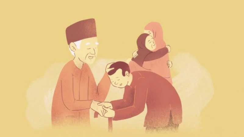 6 Tips Agar Diberikan Anak yang Berbakti Pada Orang Tua
