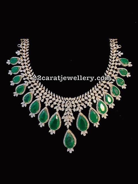 Latest Diamond Necklaces from SRJ Fine Jewellery