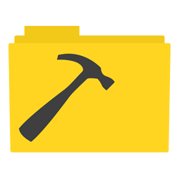 Preview of Hammer, Tool, hardware, folder icon