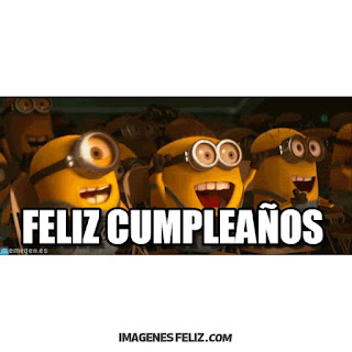 Feliz Cumpleaños Graciosas Chistosas minions