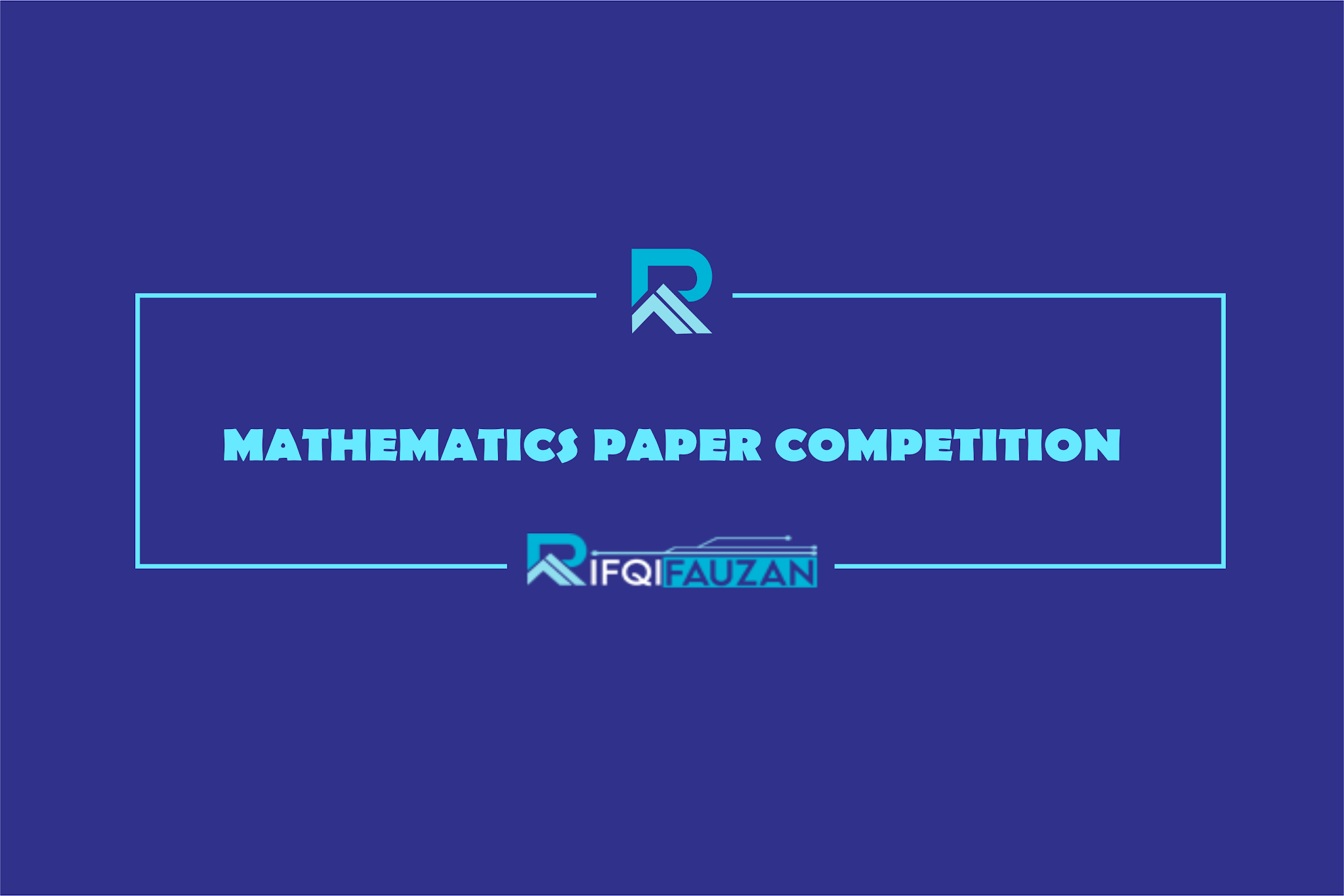 MATHEMATICS PAPER COMPETITION 2020