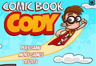 Comic Book Cody Action Games