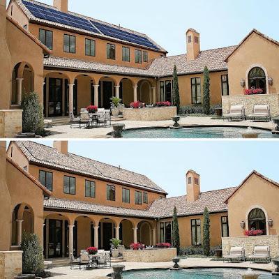 Panells solars que canvien de color
