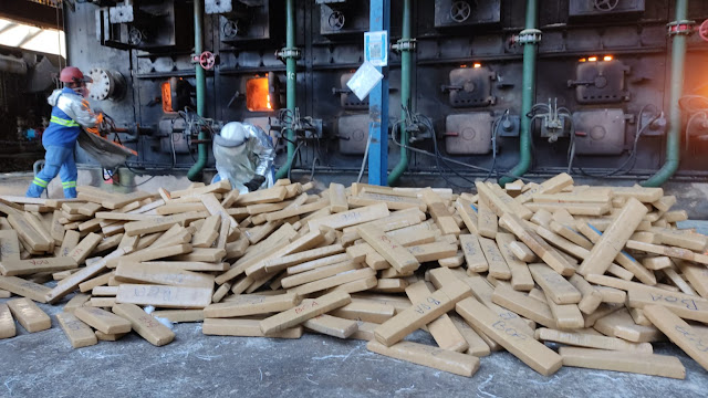 Policia Federal incinera mais de 1,5 tonelada de drogas