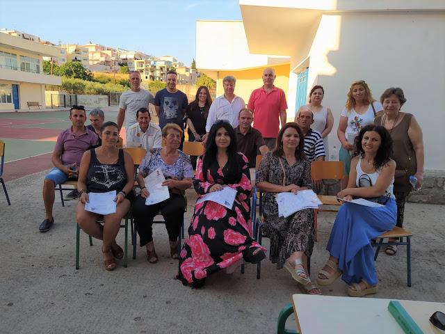 Τελετή αποφοίτησης στο Σχολείο Δεύτερης Ευκαιρίας Ναυπλίου παράρτημα Κρανιδίου