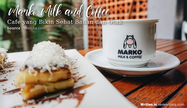 Marko Milk and Coffee di Jalan Wates, Delingsari, Bantul