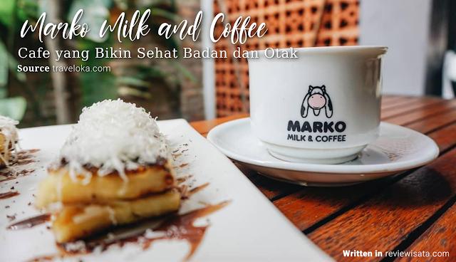 Marko Milk and Coffee di Jalan Wates, Delingsari, Bantul
