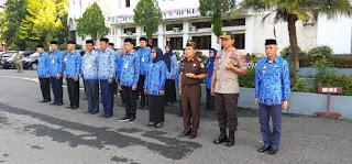 Kapolres Pangkep beserta Jajaran Hadir di Upacara Hari Kesadaran Nasional