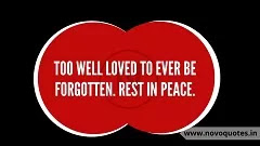 Rest in Peace Message in English