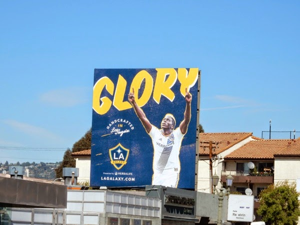 LA Galaxy Glory billboard