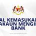 Jadual Kemasukan BKC Ke Akaun Mengikut Bank