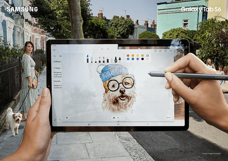 Samsung Galaxy Tab S6 is a companion for creatives on-the-go